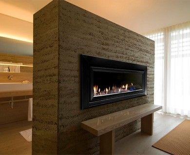 Double sided fireplace Sydney