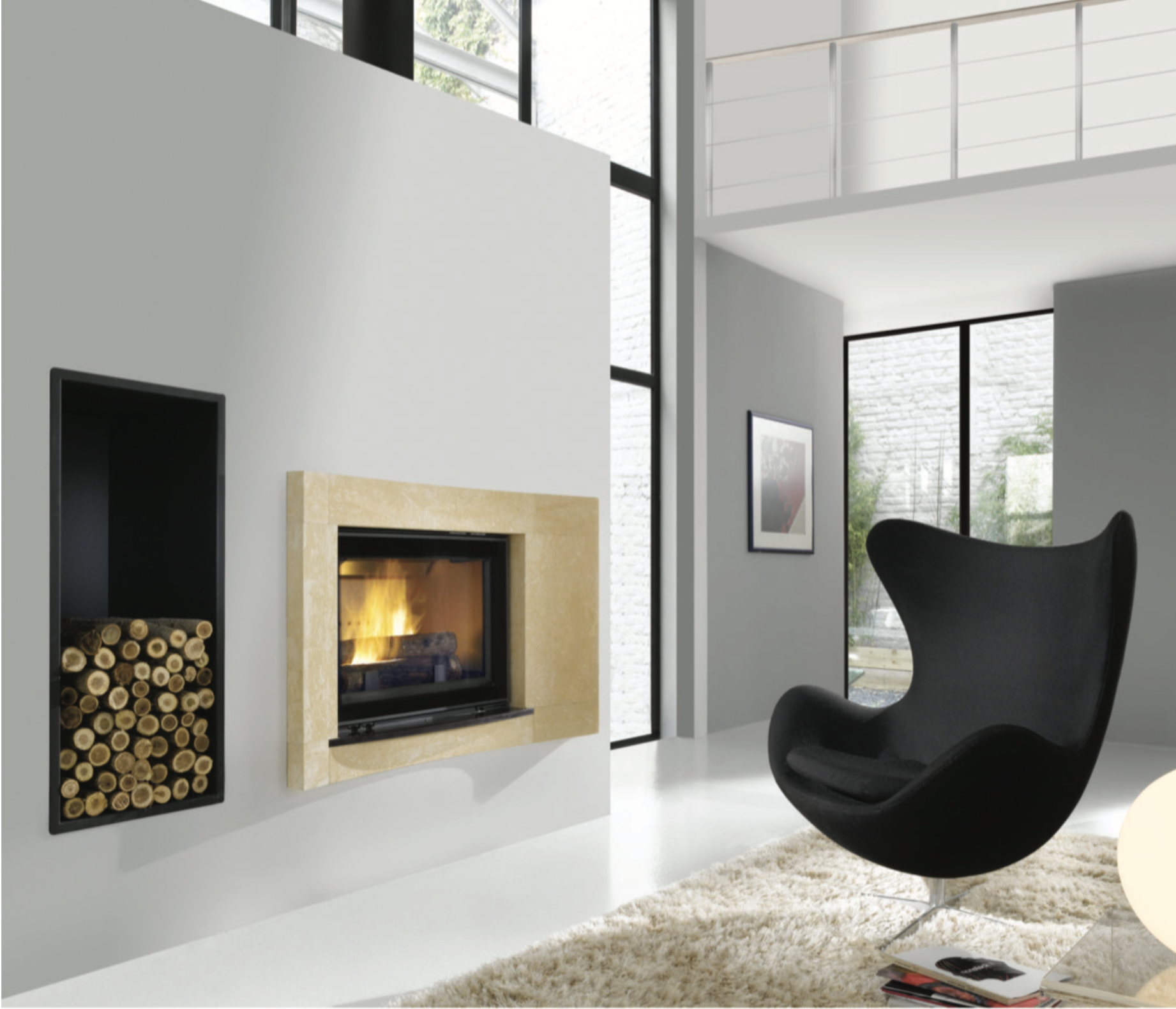 HP 800 FIREPLACE